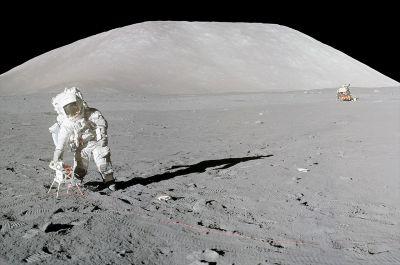 नासा दोबारा करेगा चाँद के पुराने नमूनों का विश्लेषण : अपोलो 17 मिशन
