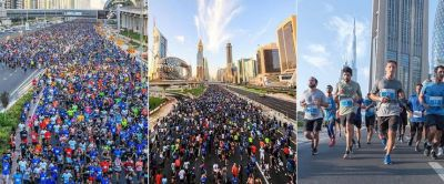 Dubai Run: Elderly Indian women complete five-kilometer run on the wheelchair