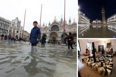 डूबने की कगार पर है इटली का ये खूबसूरत शहर, तीन हफ़्तों से लगातार जारी है बारिश