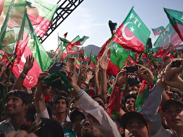 इमरान खान की यात्रा के खिलाफ अफगानिस्तान में शुरू हुआ  विरोध