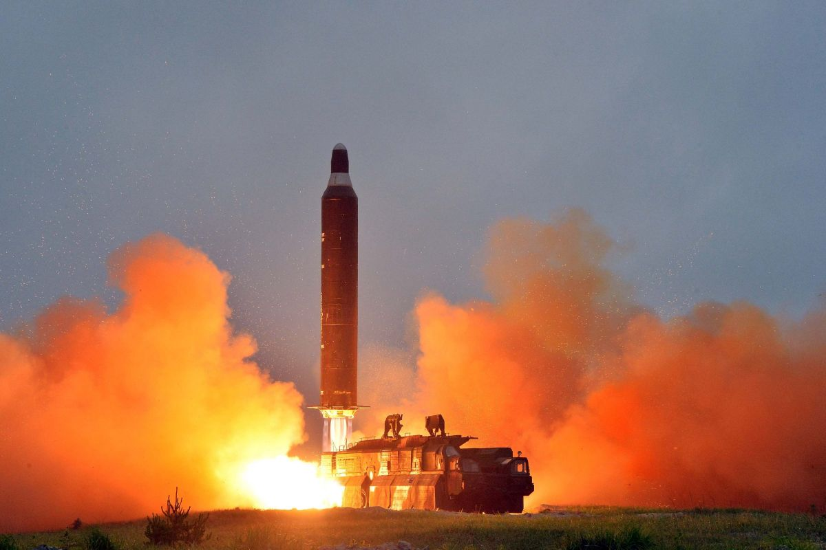 North Korea successfully tested a ballistic missile, may cause destruction underwater