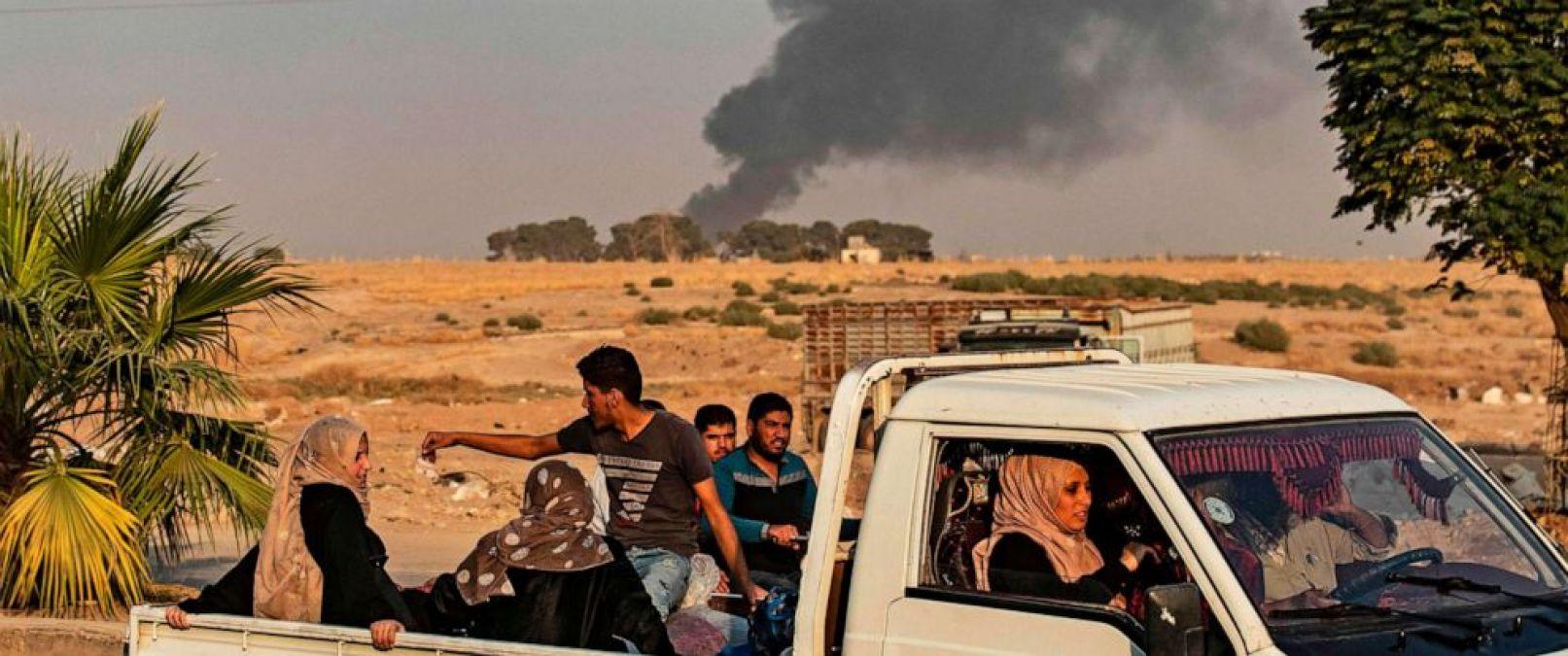 अमेरिकी सेना के सीरिया से हटते ही तुर्की ने खेलना शुरू किया खुनी खेल, बमबारी में सात नागरिकों ने गंवाई जान