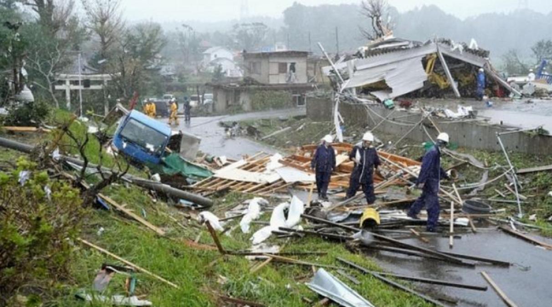 जापान में हिगबीस तूफान का कहर जारी, अब तक 14 की मौत, लाखों विस्थापित