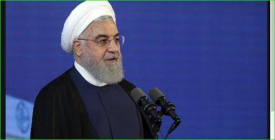 ईरान के राष्ट्रपति ने कसा अमेरिका पर तंज, कहा- 'हम पर प्रतिबंध लगाकर अपराध...'