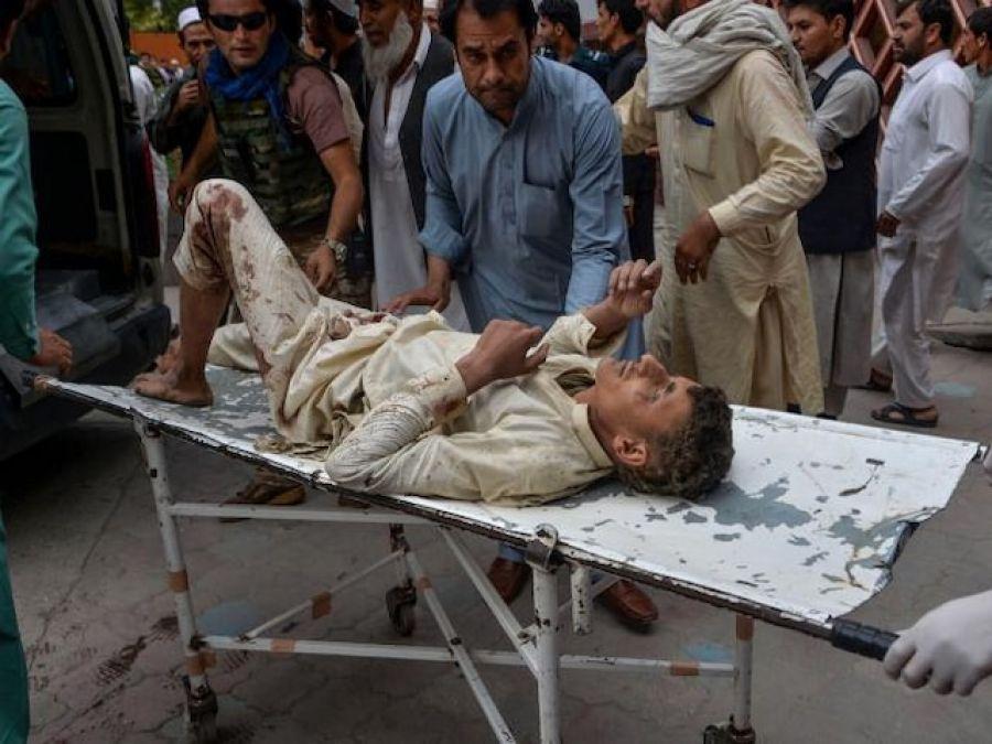 ਧਮਾਕਿਆਂ 'ਚ ਹੁਣਤਕ 62 ਨਮਾਜ਼ਿਆਂ ਦੀ ਮੌਤ ਹੋ ਗਈ ਅਤੇ 100 ਤੋਂ ਜ਼ਿਆਦਾ ਜ਼ਖ਼ਮੀ