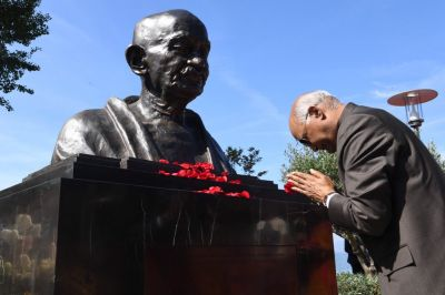 President Kovind on a five-day Philippines visit, 'Bapu' statue unveiled at Manila,