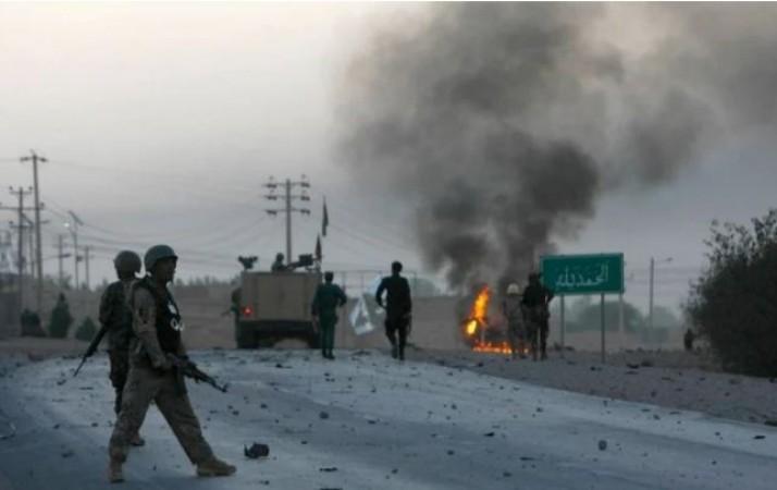तालिबान के खिलाफ अफ़ग़ान वायुसेना का बड़ा एक्शन, हवाई हमले में मार गिराए 13 आतंकी
