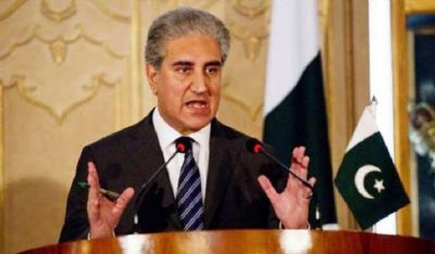 Pakistan Foreign Minister Shah Mehmood Qureshi says,  'war can happen with India anytime'