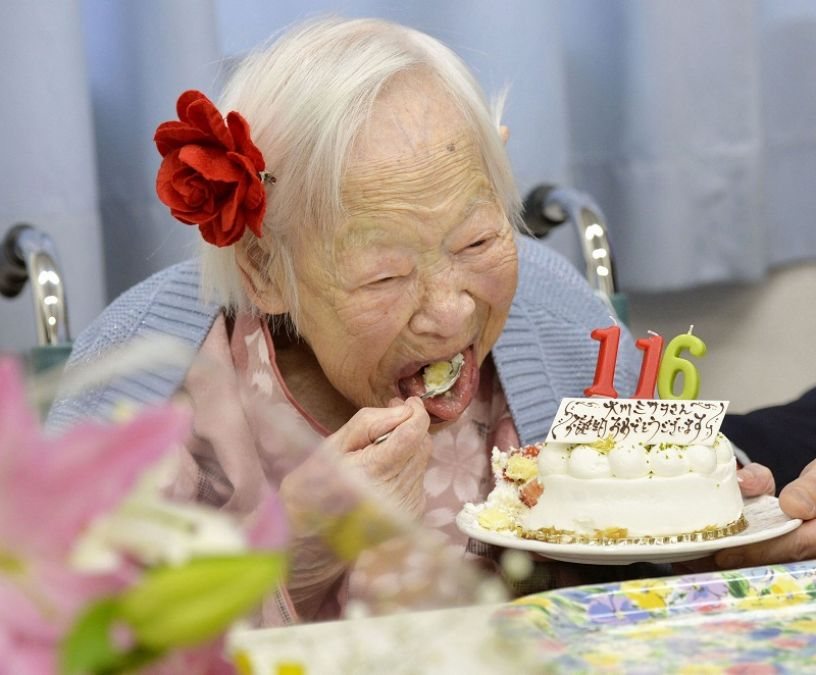 71-thousand people cross age of 100 years, mostly women in the list