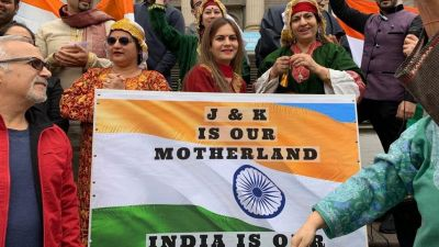 People of Indian origin helds rally in Australia, support abrogation of section 370