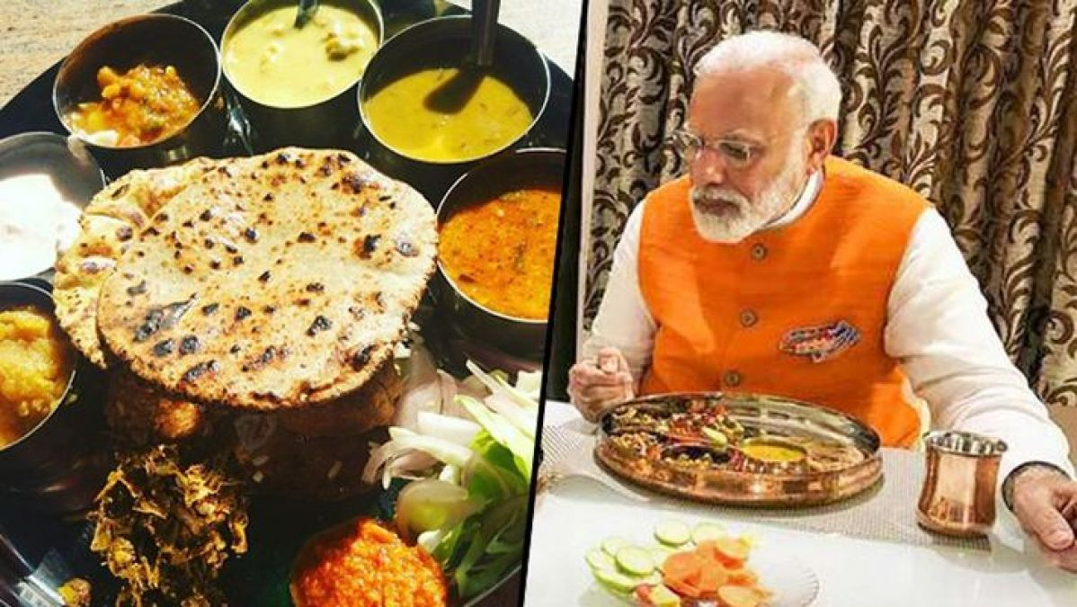 Howdy Modi: Special plate prepared for PM Modi, know what is special in it