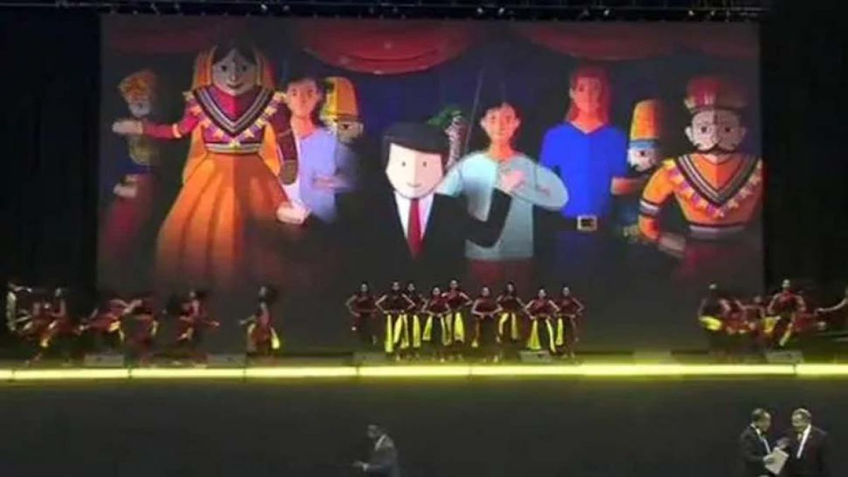 VIDEO: Modi echoes in Houston,