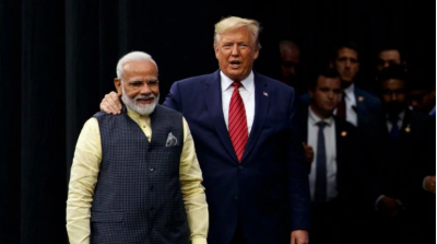 President Trump said at Howdy Modi event, says,  'America loves India'