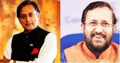 Prakash Javadekar exposes 'Congress' hypocrisy', shares Shashi's decade-old tweet
