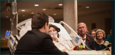 US woman with cancer gets married 18 hours before her death